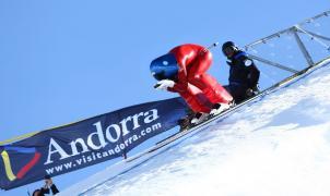 Philippe May llega a los 199,56 kilómetros por hora en la primera prueba del KL de Grandvalira