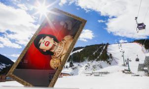 Las Finales de la Copa del Mundo de Andorra se acercan al arte con 3 obras firmadas por Philippe Shangti