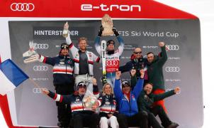 ¡Pinturault sigue en racha! victoria en el GS y nuevo líder en la de la Copa del Mundo