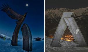 El nuevo logo de la candidatura de Andorra 2027 fusiona la pista Àliga con la Avet