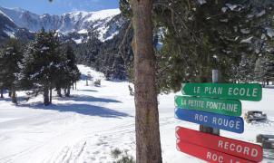 Cambre d'Aze ya tiene todo el desnivel esquiable abierto