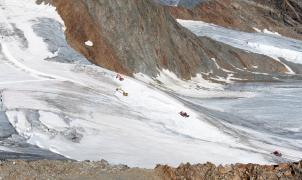 Desmentido: el glaciar austriaco de Pitztal no se destruye para ampliar una estación de esquí