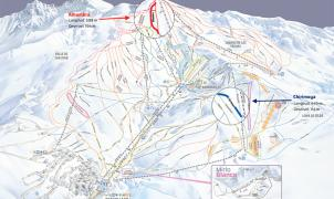 Sierra Nevada incorpora dos nuevas pistas al plano oficial de la estación