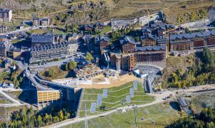Grandvalira ENSISA inaugura la plataforma esquiable y el aparcamiento Avet de Soldeu