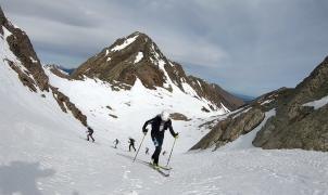 Fin de semana de competiciones de esquí de montaña en Vall de Núria