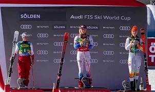 'Mika' Shiffrin gana magistralmente el gigante inaugural de Sölden y logra su 70a victoria