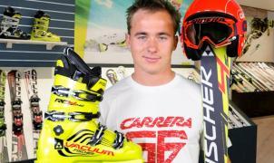 El esquiador profesional Pol Carreras deja la competición