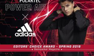 Adidas Power Air con el nuevo tejido Polartec