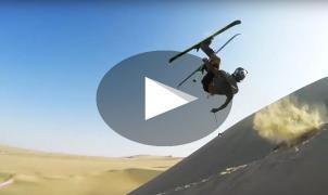 Emma Dahlström y Jesper Tjäder 'trituran' las dunas de Huacachina y Cerro Blanco