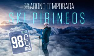 Aragón amplia hasta el 28 de octubre el descuento del 25% en el Abono Ski Pirineos