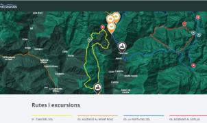 La estación de Tavascan estrena un novedoso mapa interactivo con los atractivos más importantes