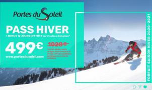 Llegan los descuentos en los forfaits de temporada: Portes du Soleil lo vende a mitad de precio