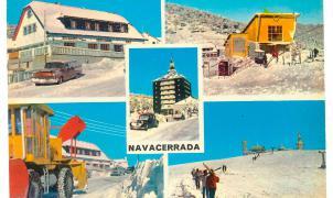 Concentración popular para intentar salvar el esquí en el Puerto de Navacerrada
