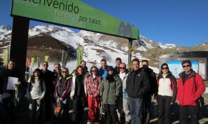 Integrantes de las IV jornadas de metereología y prensa
