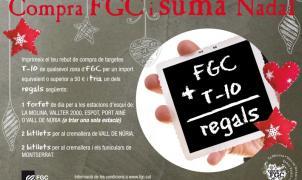 FGC regala forfaits y billetes de los cremalleras con la compra de tarjetas T-10