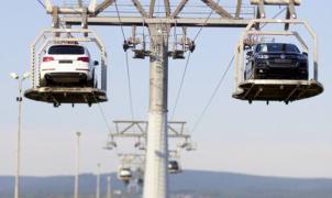 ¿Telesilla para coches? si, está en Eslovaquia y funciona hace 18 años