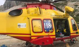 Dos españoles atrapados en las Tres Cimas de Lavaredo rechazan dos veces el rescate