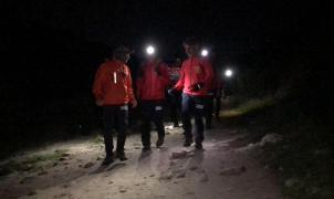 Rescatados 18 boy scouts y sus monitores en medio de nieve y hielo en la sierra de Madrid