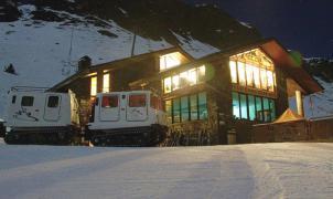 Subir a cenar con un trineo, así es el Après-ski en Arcalís
