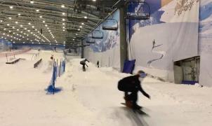 Madrid SnowZone y la RFEDI crean una pista de snowboard cross (SBX) indoor