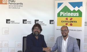 La Agencia Catalana de Turismo y Ferrocarrils suman esfuerzos para la promoción de la marca Pirineus