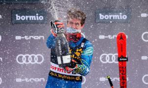 Ryan Cochran-Siegle consigue su primera victoria en el Super-G de Bormio
