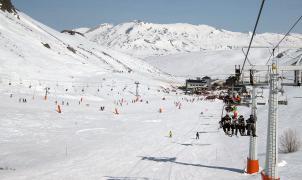 Imagen de la estación de esquí de San Isidro en León