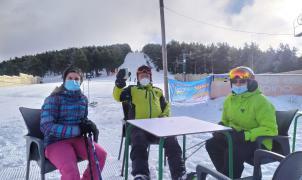 Hoy ha abierto la primera estación de esquí de la Península: Punto de Nieve Santa Inés