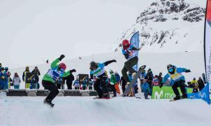 Toda la emoción del snowboardcross y skicross llega a Formigal con la Copa de España Movistar