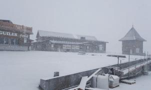 Vídeo e imágenes de la nevada de octubre en Sierra Nevada