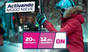 Sierra Nevada lanza sus forfaits con descuentos para esquiar a partir del 27 de noviembre