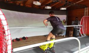 Así es el nuevo simulador de esquí de Esquiades y Vallnord  -  Pal Arinsal