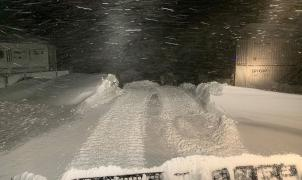 Se baten récords de nieve en Escocia con las estaciones de esquí cerradas
