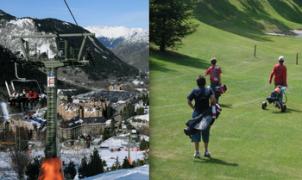 Esquí por la mañana en Baqueira y golf por la tarde en Salardú
