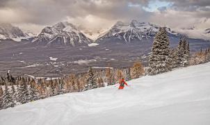 Lake Louise reducirá un 30% su área esquiable para proteger la vida silvestre