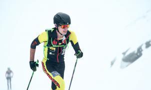 Oriol Cardona y Marta García Campeones de España de Esquí de montaña en cronoescalada