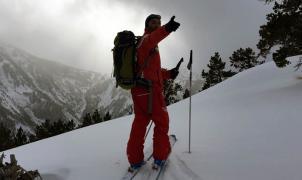 Sigue sin éxito la búsqueda de un esquiador desaparecido cerca de Formiguères