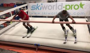 La FAE alquila un simulador de esquí para sus corredores para completar la pretemporada