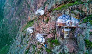 """Airbnb para los más """"colgados"""" a 388 euros la noche en el Valle Sagrado de Perú"""