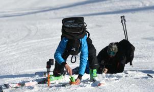 Los técnicos dan el ok al 'snow control' de las pistas de las Finales de la Copa del Mundo