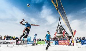 El viernes 2 de agosto llega el Snow Volley al Cerro Catedral