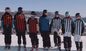 Ni Copa de Europa ni Mundial, el fútbol se juega en las pistas de esquí