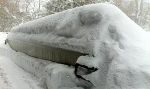 Imagen de la nevada en Squaw Valley,  23 de diciembre del 2012