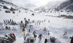 Un esquiador herido muy grave en un choque en las pistas de Grandvalira