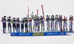 Noruega vence a Suecia y se adjudica la prueba por equipos del Mundial de Cortina