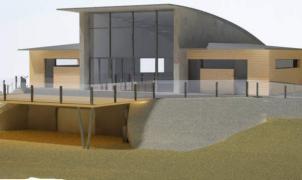 el tejado de la nueva cafetería de San Isidro vuela por los aires