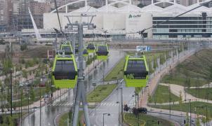 El telecabina de la Expo de Zaragoza transportará esquiadores en Italia e Israel