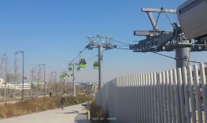 Aramón dice adiós a la telecabina de la Expo de Zaragoza tras 7 años en desuso