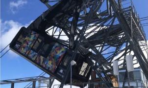 Susto en Courchevel: se accidentan las dos cabinas de un telérico durante una inspección