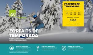 Avanzamos los precios de los forfaits de las estaciones de Ferrocarrils de la Generalitat